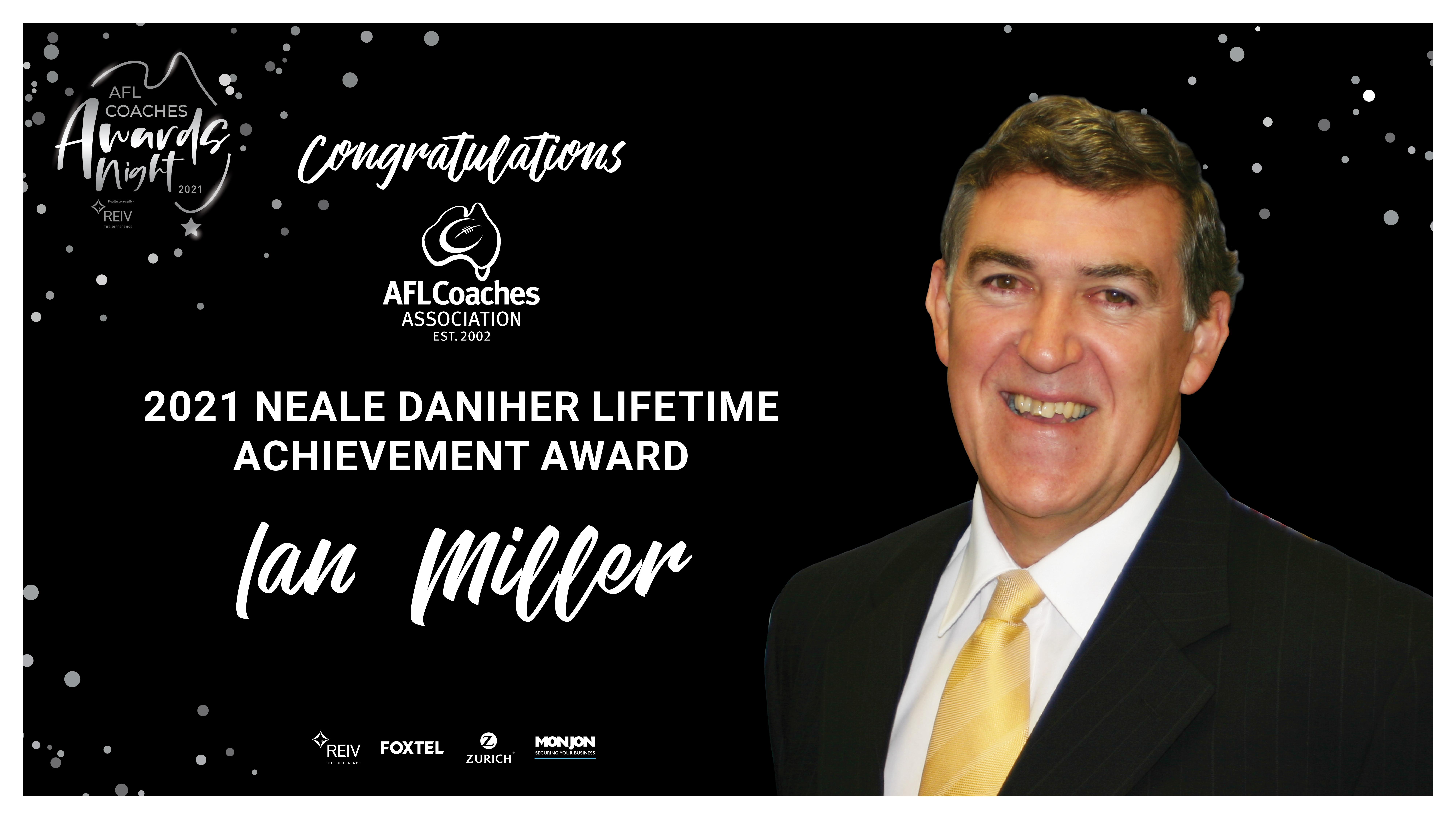 Neale Daniher Lifetime Achievement Award